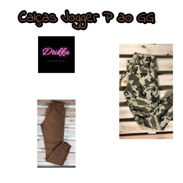Kit 2 Calças Bengaline  ou Jogger por $ 99,90 - Foto 4