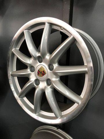 Rodas Originais Porsche 19 5x130 Duas talas - Foto 2
