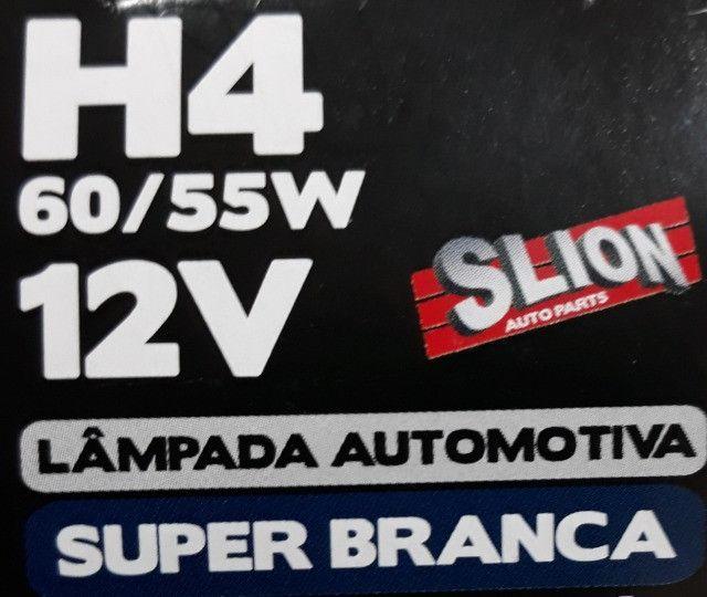 Lâmpada Super Branca H4 4200k