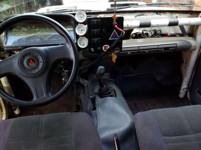 L200 RIII rally Sertões 2003 Turbo, Intercooler,4x4 diesel (leia o anúncio completo) - Foto 12