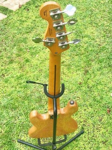 Contrabaixo Fender Squier Classic Vibe 70S Jazz Bass V MN 037 4550 521 Natural - Foto 5