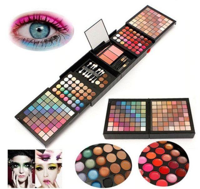 Kit Maquiagem Estojo Mpwell - 177 cores