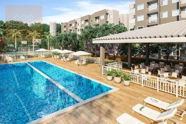Apartamento com 2 dormitórios à venda, 49 m² no Eusébio.