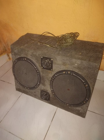 Caixa de som 2 altifalantes e dois  tweeter - Foto 2
