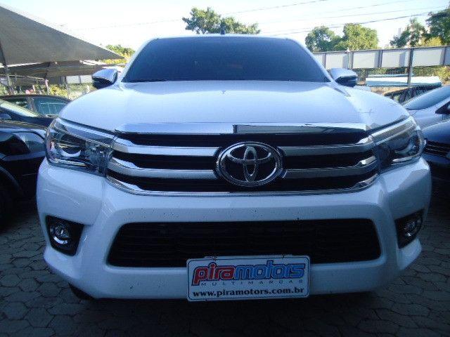 Toyota hilux caminhonete 2.8 srx 4x4 diesel cabine dupla automático 2018