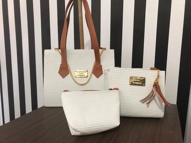 Lindas bolsas,qualidade e maravilhoso dezaine - Foto 3