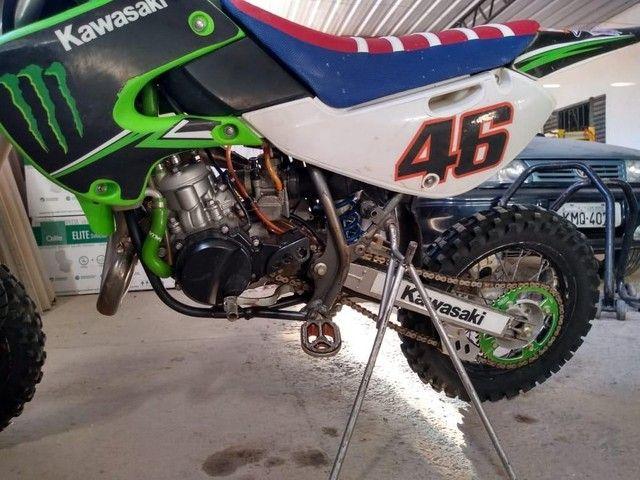 Kx 65cc 2009 oficial cheia de acessórios - Foto 2