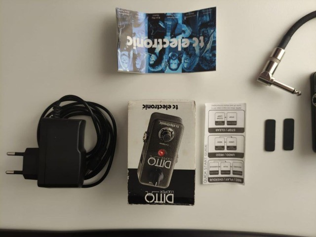 Pedal Guitarra Ditto Looper - TCElectronic - Foto 4