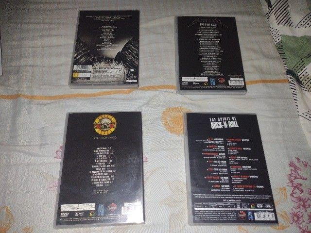CDs e DVDs de Rock - Nacional e Internacional - Leia a descrição - Foto 6