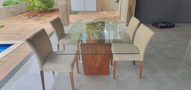 Mesa com 4 poltronas super luxo - Foto 3