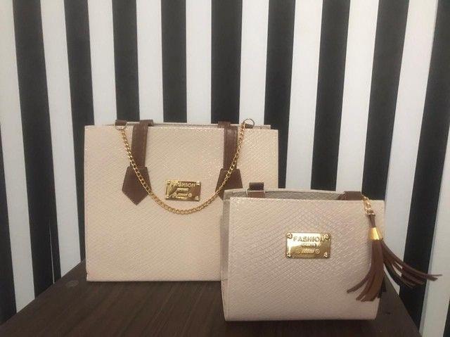Lindas bolsas,qualidade e maravilhoso dezaine - Foto 6