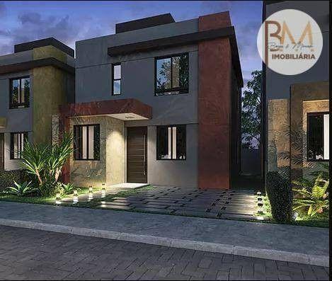 Casa com 4 dormitórios à venda, 108 m² por R$ 546.295,45 - Sim - Feira de Santana/BA