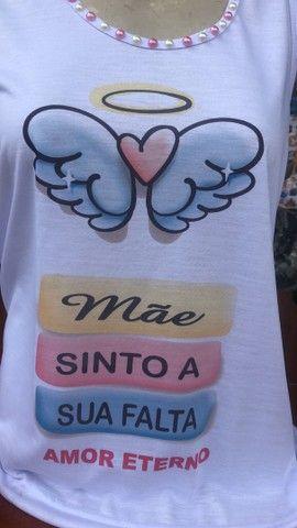 Camisa para mãe