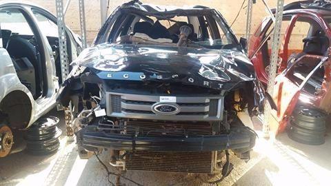Peças usadas Ford Ecosport 2011 2012 1.6 8v 107cv flex câmbio manual - Foto 3