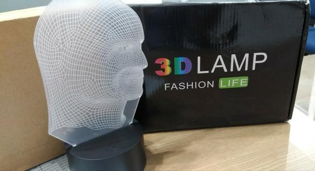 Luminária de Mesa 3D