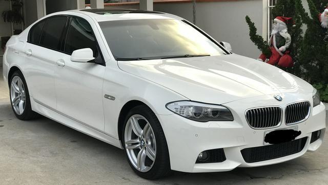 BMW 528i 52 mil km único Dono kit M - Foto 9