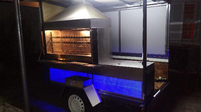Mini Truck - Espetinhos c/ freezer