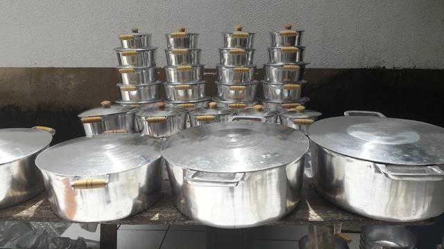Panelas de alumínio