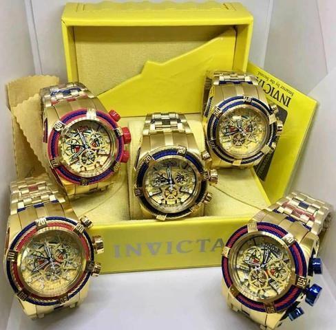 38a8626ddc7 Venda de relógios invictas originais - Bijouterias
