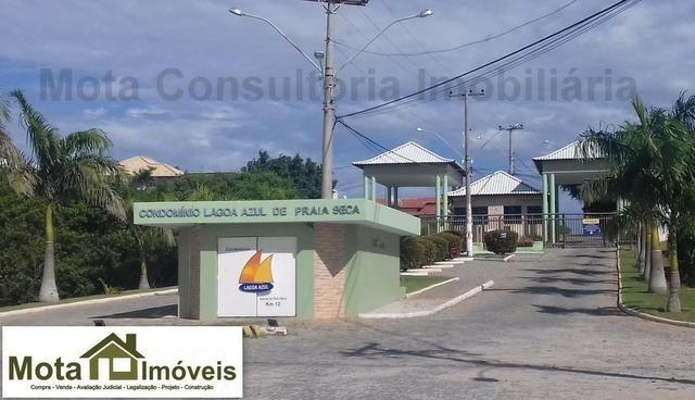 Mota Imóveis - Tem em Praia Seca - Centro Terreno 360m² Condomínio Frente ao DPO - TE -121