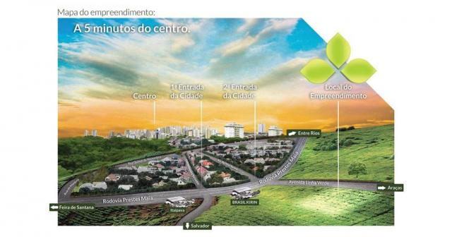 Terreno à venda em Santa terezinha, Alagoinhas cod:55592 - Foto 4