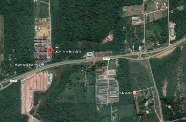 Apartamento com 2 dormitórios à venda, 51 m² por R$ 70.494,26 - Zona Rural - Iranduba/AM - Foto 9