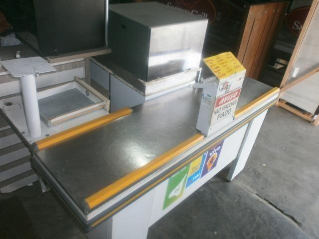 Balcão caixa de mercado - check out - Foto 3