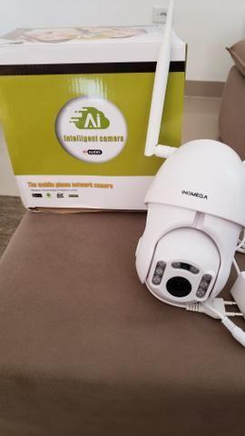 Camera com visão noturna wifi e prova d'água - Foto 3