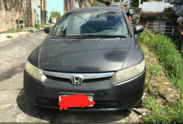 Honda Civic 2008 alienado! whatsapp *72
