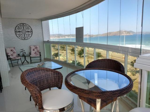 Apartamento frente a praia do forte