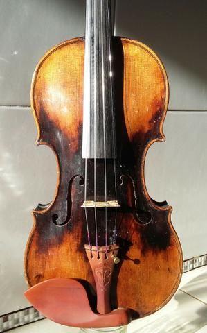 Extraordinário* Violino Antigo, Francês, Centenário. Raridade. Link de vídeo na descrição - Foto 2