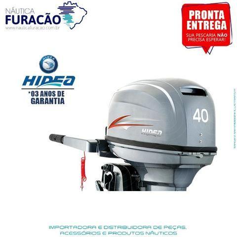 Motor de Popa Hidea 40hp Manual - Foto 3