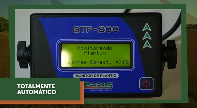 Monitor de plantio GTF-200 Terris - Foto 6