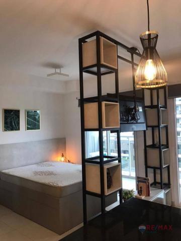 Apartamento com 1 dormitório para alugar, 40 m² por R$ 1.800,00/mês - Jardim Tarraf II - S - Foto 11