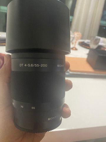 Lente Sony 55-200/4-5.6 impecável aceito cartão - Foto 2