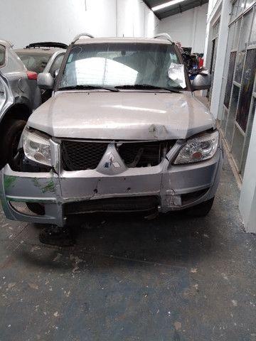 Sucata Pajero TR4 FL 2WD HP- 2012/2013 - Foto 6