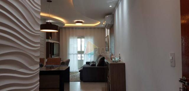Apartamento com 2 dormitórios para alugar, 76 m² por R$ 3.000,00/mês - Tupi - Praia Grande - Foto 5
