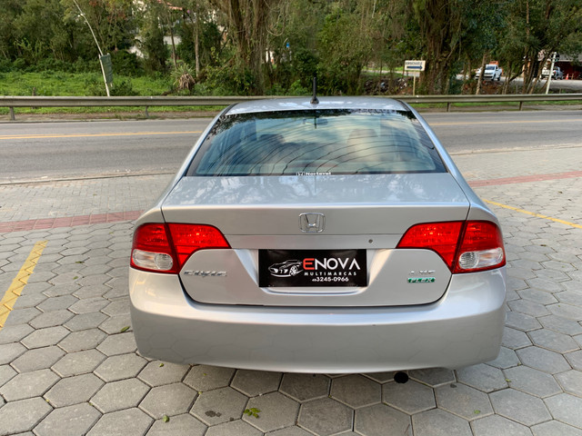 Civic LXS 1.8 flex automático completo 2008 - Foto 5
