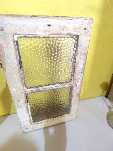 Pequeno Vitro antigo aparador parede - Foto 2