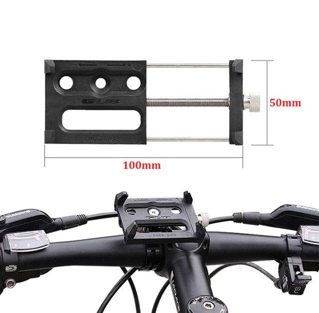 Suporte para smartphone bike moto em alumínio aéreo e ABS ultra resistente - Foto 2