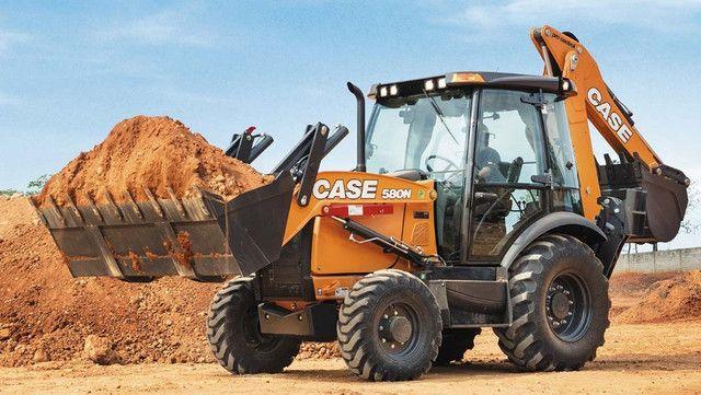 Retroescavadeira Case 580n 4x4 Cabinada 2020 - Foto 2