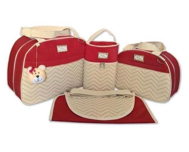 Kit bolsas Maternidade 4 peças  - Foto 5