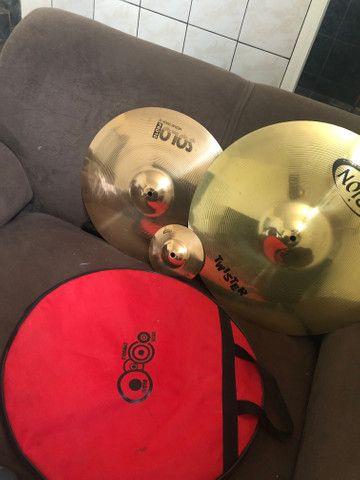Pratos orion cymbals - Foto 2