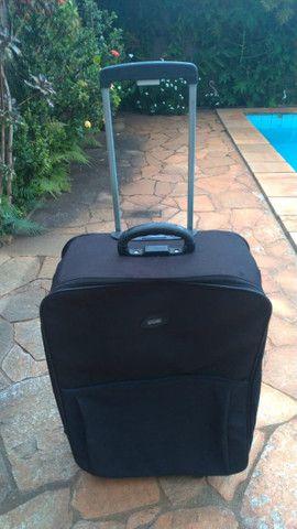 Mala Com Rodinhas Para Viagem Cruzeiro Cor Preta - Foto 6