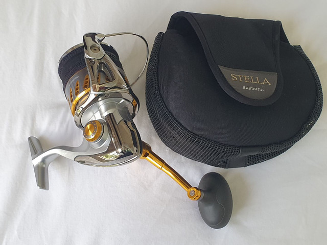 Molinete Shimano Stella 8000SW PG !
