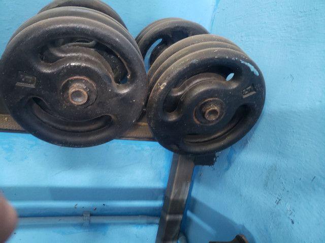 Halteres 20kg e 30 kg - Foto 4