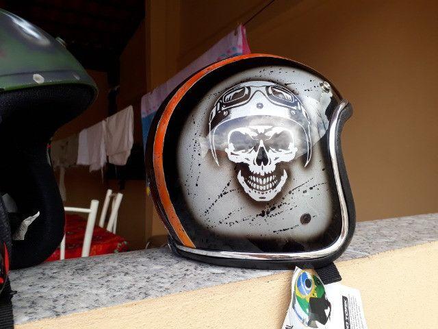 Vendo capacetes personalizados - Foto 4