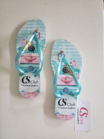 Kits chinelos com 12 pares no transfer digital,temos todas as marcas.  - Foto 4