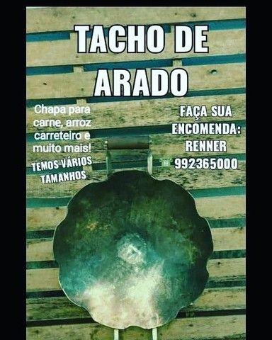 Chapa / Tacho de Arado Original  - Foto 3