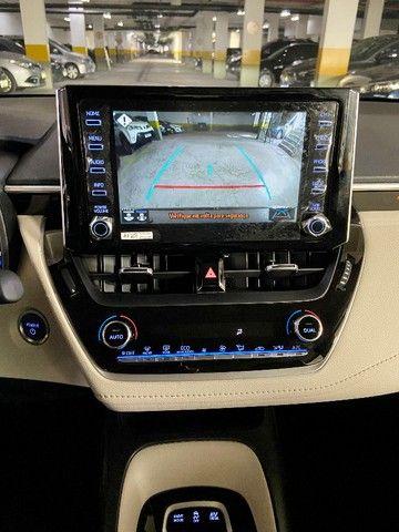 Toyota Corolla Altis Hybrid Blindado Teto Solar Okm Pronta Entrega - Foto 12